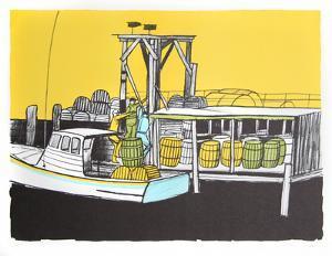 Loading the Boat by Arthur Seiden