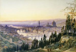 Florence from San Miniato by Arthur		 Severn