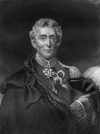 Arthur Wellesley, 1st Duke of Wellington, British Soldier and Statesman, 19th Century- Lightfoot-Giclee Print