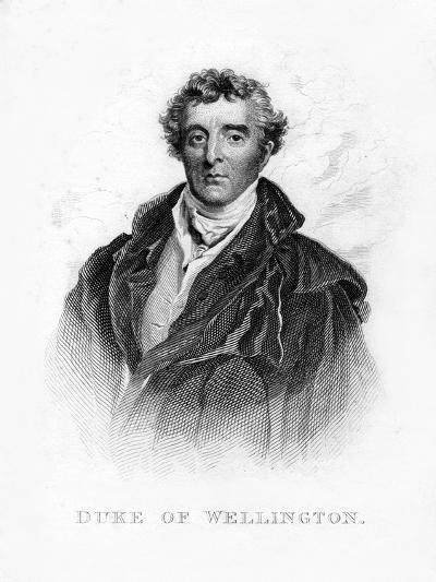 Arthur Wellesley, 1st Duke of Wellington, British Soldier and Statesman, 19th Century--Giclee Print