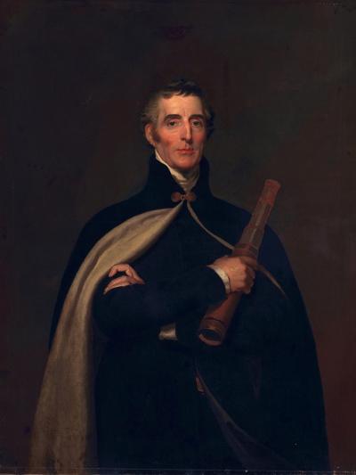Arthur Wellesley, Duke of Wellington, with a Telescope-Thomas Lawrence-Giclee Print