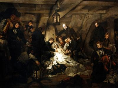The Death of Admiral Lord Nelson, 1805 by Arthur William Devis