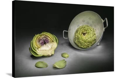Artichokes-Christophe Verot-Stretched Canvas Print