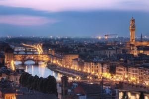 Ponte Vecchio & River Arno, Florence, Italy by Artie Photography (Artie Ng)