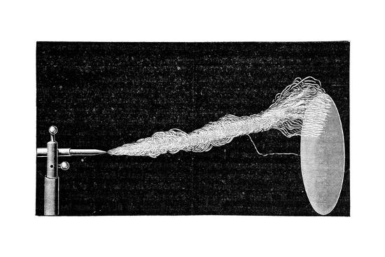 Artificial Lightning, Early 20th Century-Science Photo Library-Giclee Print