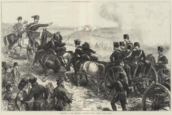 Artillery at the Brighton Volunteer Review, Halt! Action, Front--Giclee Print