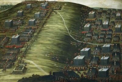Artillery Bombardment--Framed Giclee Print