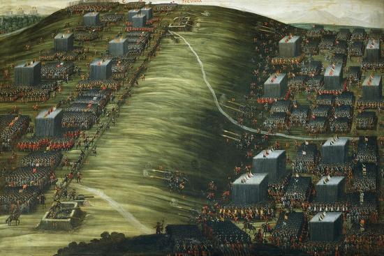 Artillery Bombardment--Giclee Print
