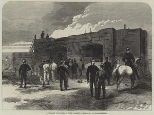 Artillery Experiments with Granite Casemates at Shoeburyness