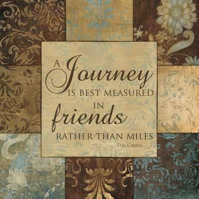 Journey Is Best Measured