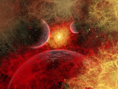 Artist' Concept Illustrating the Stellar Explosion of a Supernova-Stocktrek Images-Photographic Print