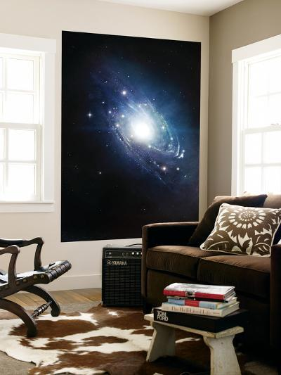 Artist's Concept of a Recently Discovered Galaxy-Stocktrek Images-Giant Art Print