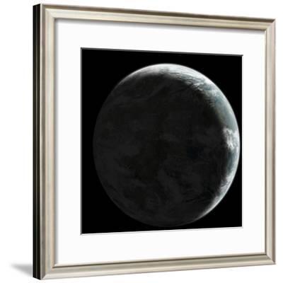Artist's Concept of an Earth-Like Planet-Stocktrek Images-Framed Art Print