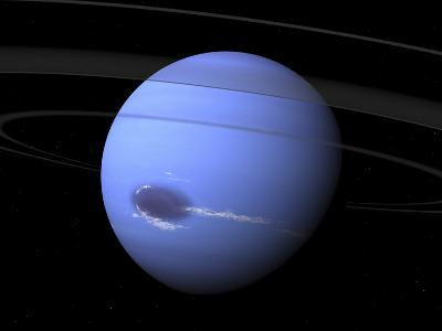 Artist's Concept of Neptune-Stocktrek Images-Photographic Print