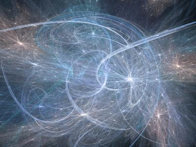 Artist's Concept of String Theory-Carol & Mike Werner-Photographic Print