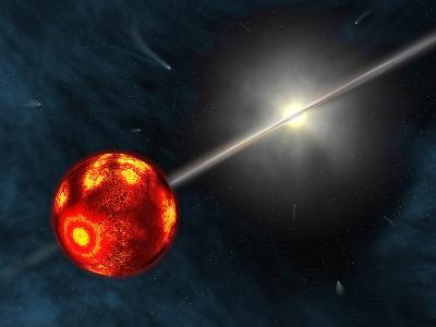Artist's Concept of the Formation of the Solar System-Stocktrek Images-Photographic Print