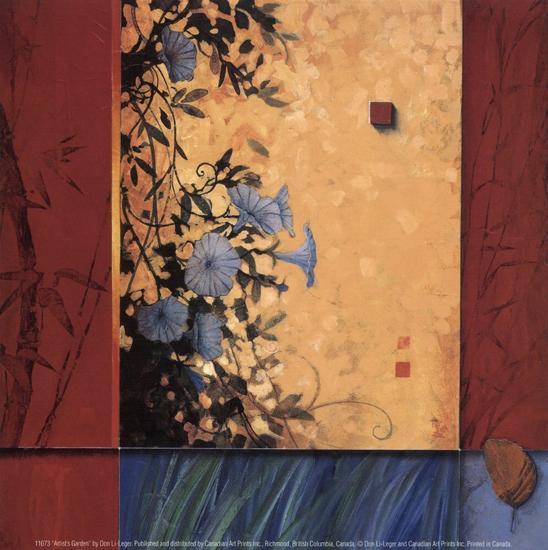 Artist's Garden-Don Li-Leger-Art Print