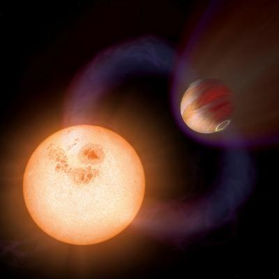 Artist's Impression of a Unique Type of Exoplanet-Stocktrek Images-Photographic Print