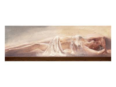 Artist's Muse-Talantbek Chekirov-Art Print