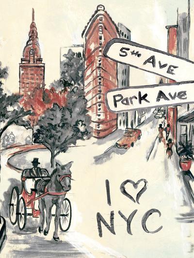 Artist's New York-Edith Lentz-Premium Giclee Print