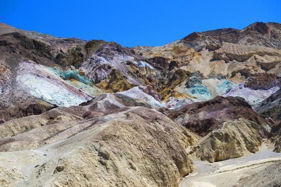 Artist's Palette - Death Valley National Park - California - USA - North America-Philippe Hugonnard-Photographic Print