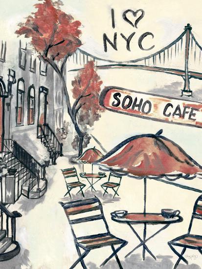 Artist's Soho-Edith Lentz-Premium Giclee Print