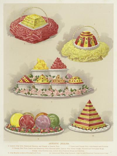 Artistic Jellies--Giclee Print