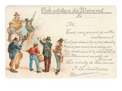 Artistic Old Farts Club, French Musicians--Art Print