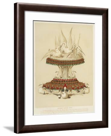 Artistic Table Centre Piece--Framed Giclee Print