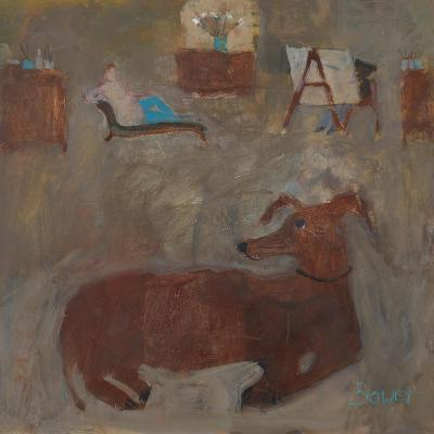 Artists Dog, 2011-Susan Bower-Giclee Print