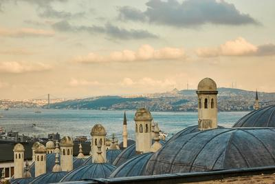 The Beautiful Suleymaniy Mosque in Istanbul