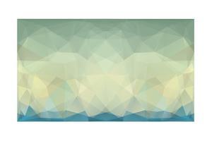 Abstract Triangle Art in Pastel Colors by artnis