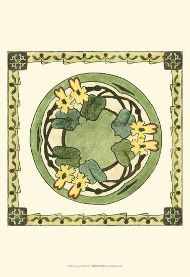 Arts and Crafts Plate V--Art Print