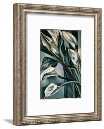 Arums II-Tamara de Lempicka-Framed Premium Giclee Print