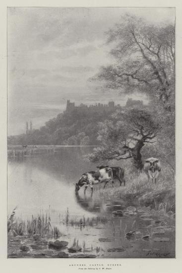 Arundel Castle, Sussex-Frederick William Hayes-Giclee Print