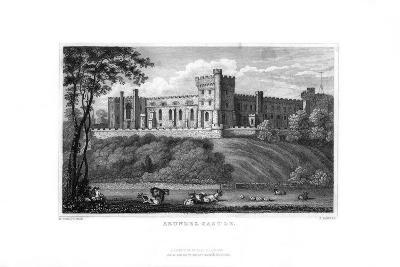 Arundel Castle, West Sussex, 1829-J Rogers-Giclee Print