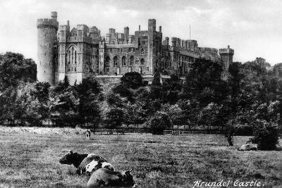 Arundel Castle, West Sussex, Early 20th Century- Francis & Co Frith-Giclee Print