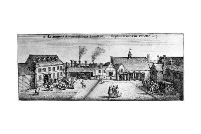 Arundel House, Strand, 17th Century--Giclee Print
