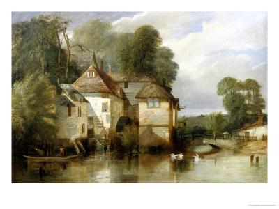 Arundel Mill, Sussex-James Baker Pyne-Giclee Print
