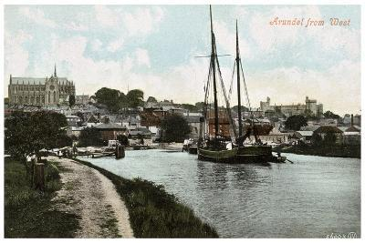 Arundel, Sussex, Early 20th Century--Giclee Print