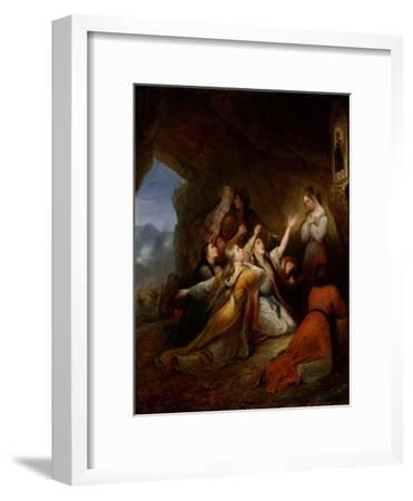 Greek Women Imploring at the Virgin of Assistance, 1826