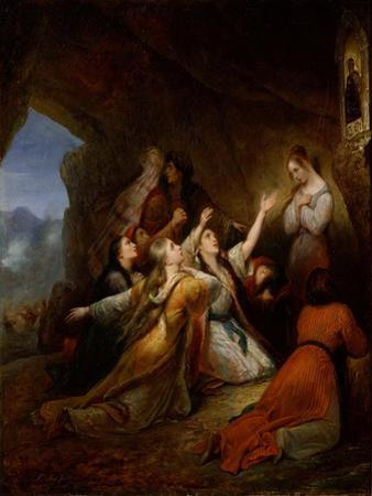 Greek Women Imploring at the Virgin of Assistance, 1826