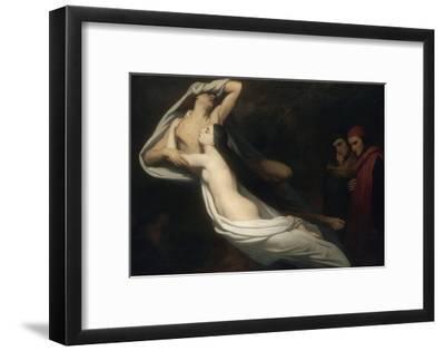 Les Ombres de Francesca da Rimini et de Paolo Malatesta apparaissent à Dante et à Virgile