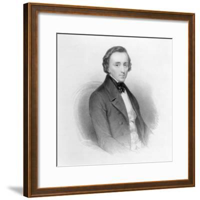 Portrait of Frederic Chopin (1810-49) Polish Composer and Pianist