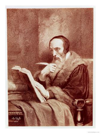 Portrait of John Calvin (1509-1564)