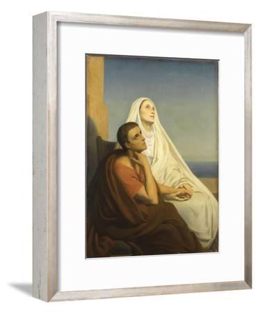 Saint Augustin et sa mère sainte Monique