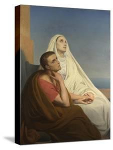 Saints Augustine and Monica, 1854 by Ary Scheffer