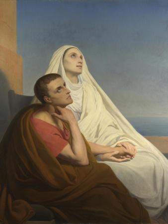 Saints Augustine and Monica, 1854