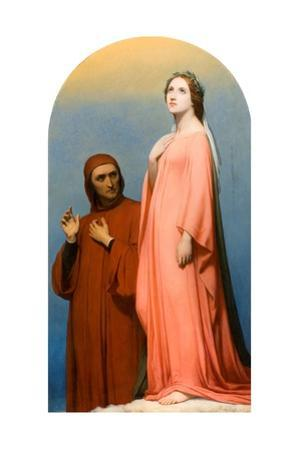 The Vision: Dante and Beatrice, 1846