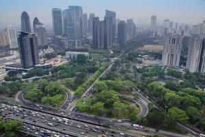 Jakarta Cityscape in Indonesia by Arya Defri